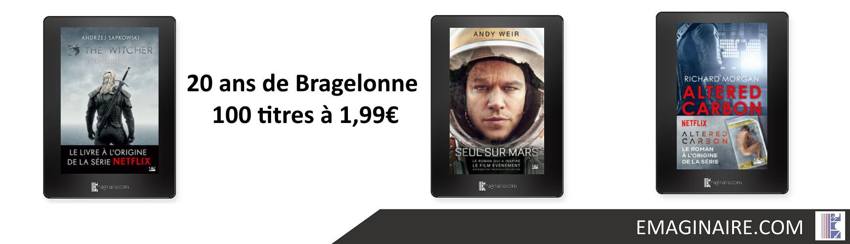 20 ans de Bragelonne - 100 titres à 1,99€