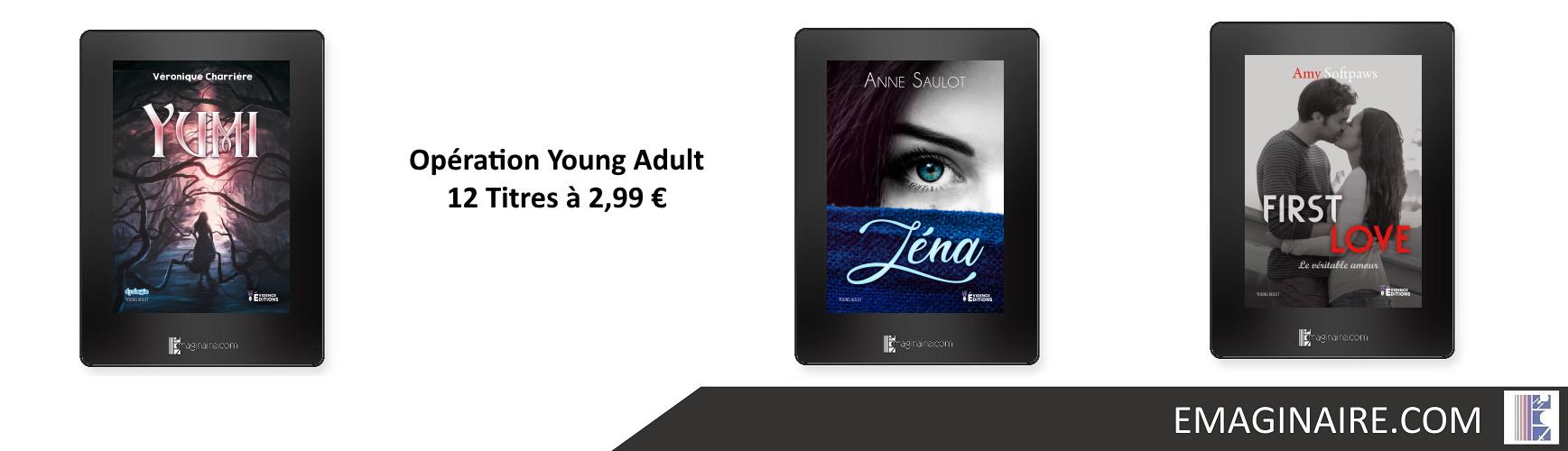Opération Young Adult - 12 Titres à 2,99 €