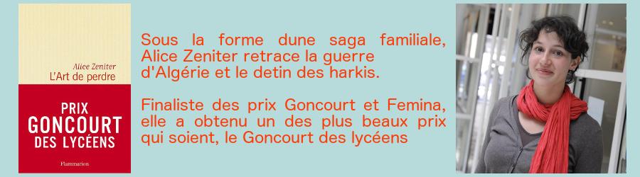 Zeniter - prix Goncourt des lycéens