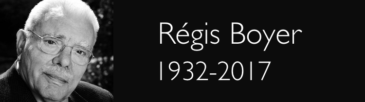 Régis Boyer (1932-2017)