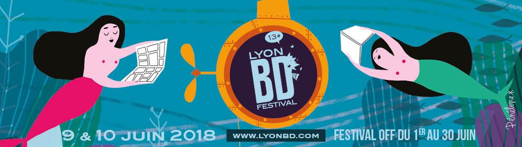 Lyon BD Festival 2018