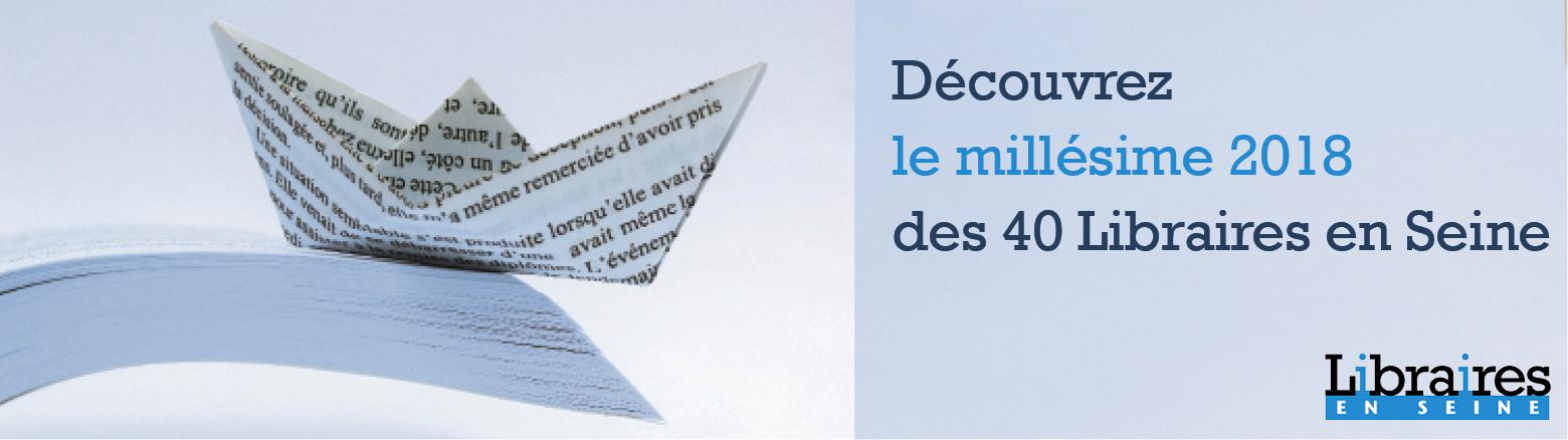 Première sélection du prix Libraires en Seine