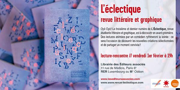 Sorbonne Calendrier.Librairie Galerie Des Editeurs Associes L Eclectique
