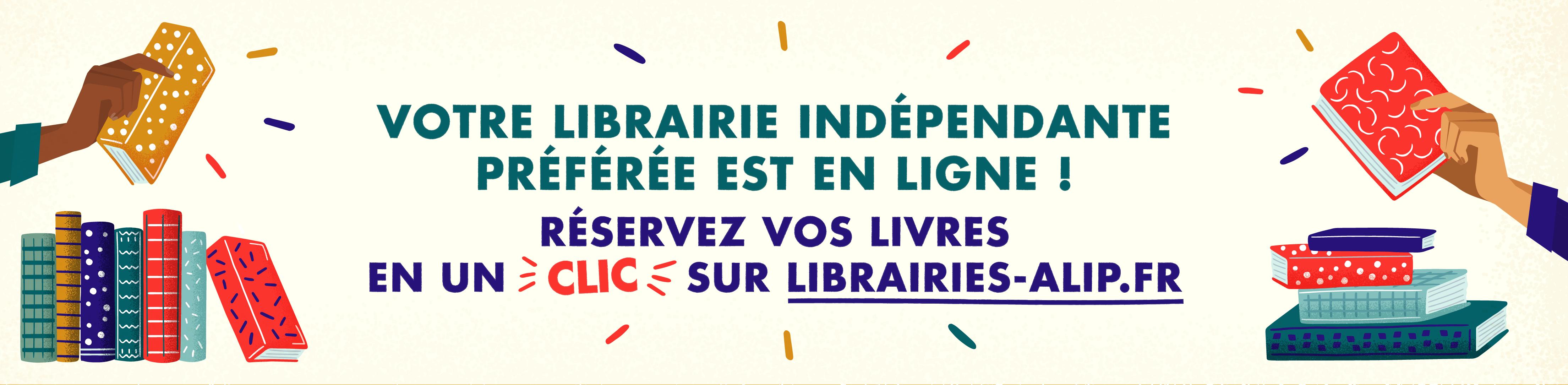 Votre librairie indépendante préférée est en ligne