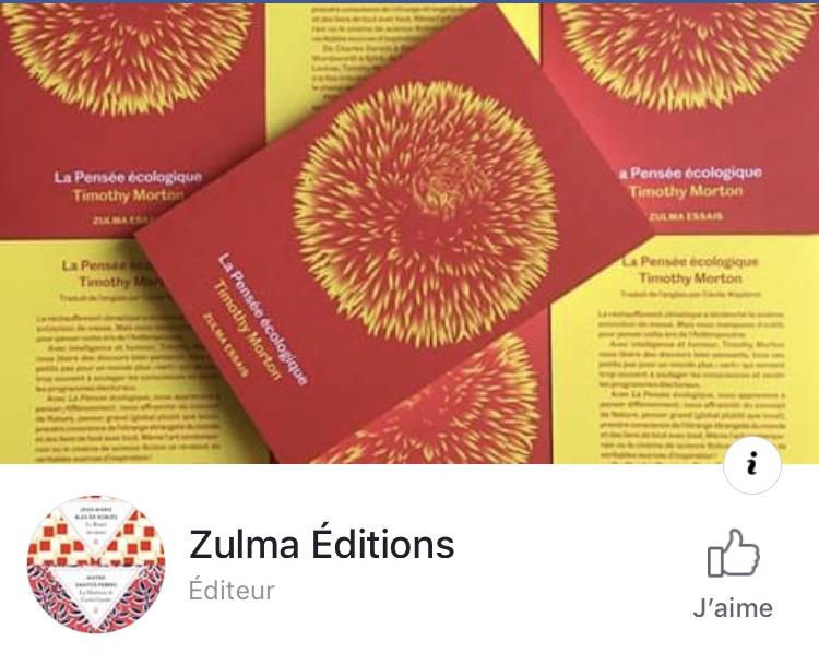 Zulma sur Facebook