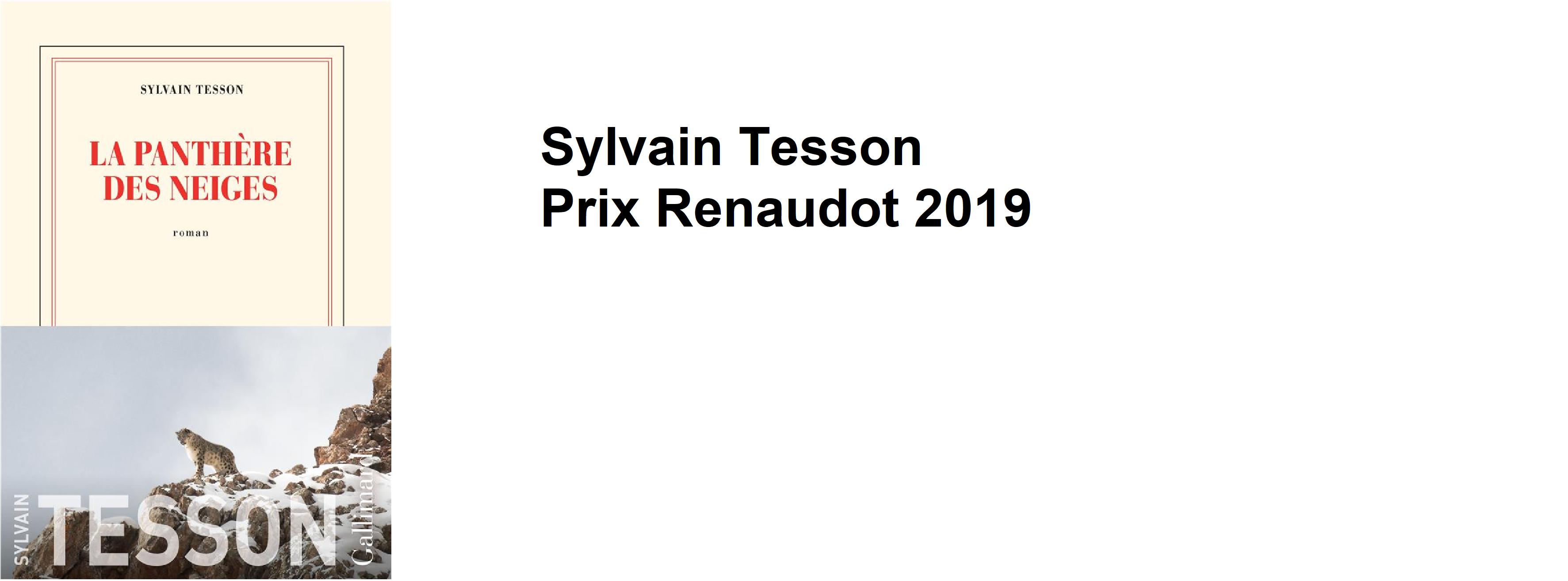 Prix Renaudot 2019