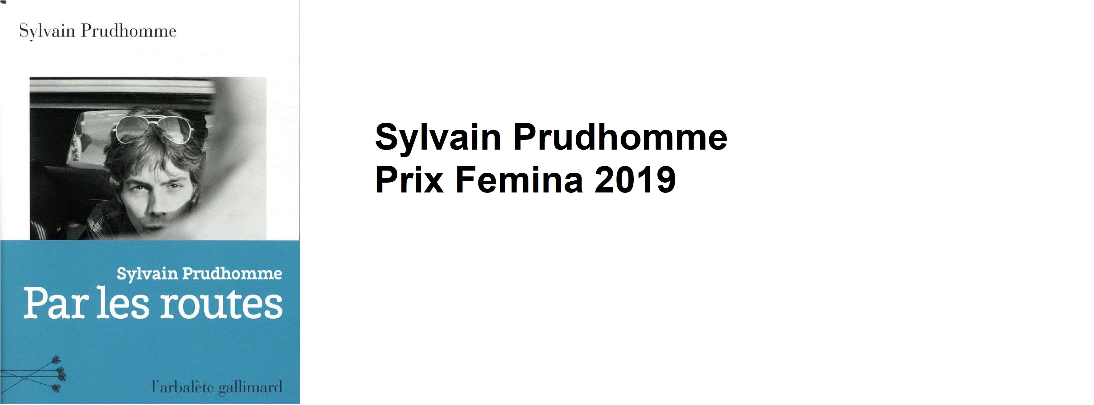 Prix Femina 2019