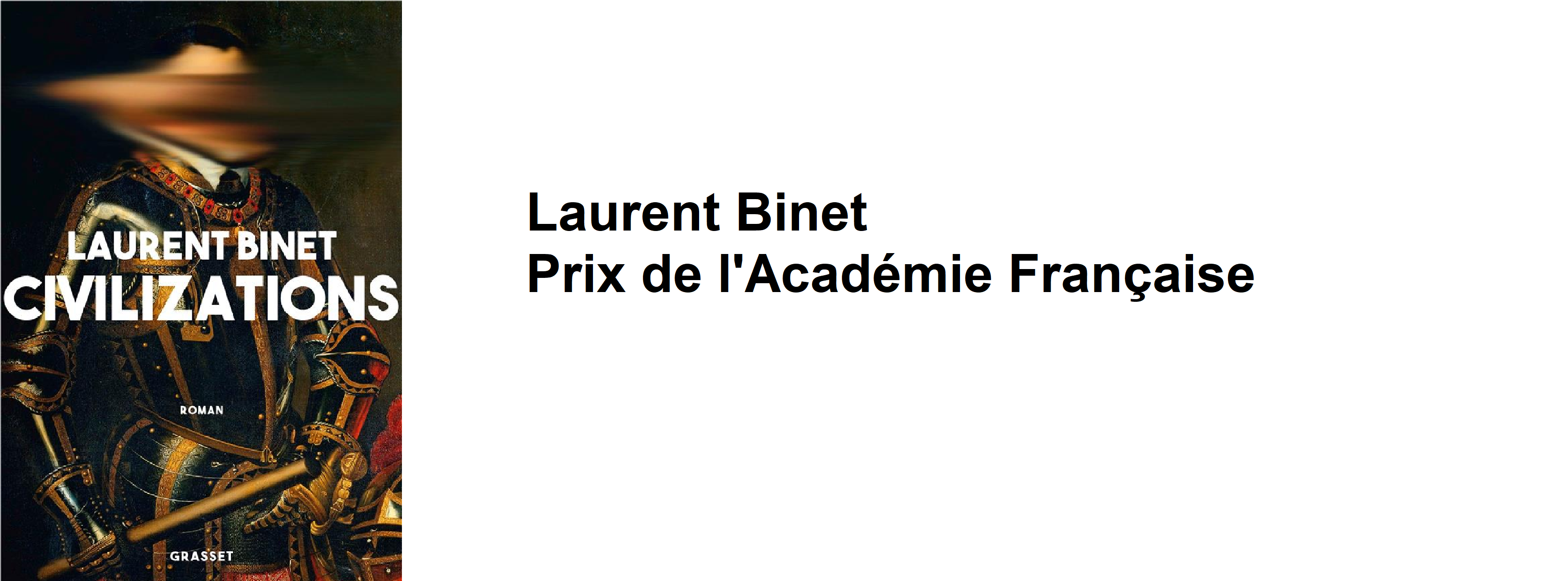 Prix de l'académie française 2019