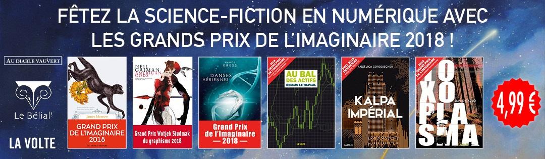 Les Grands Prix de L'Imaginaire 2018
