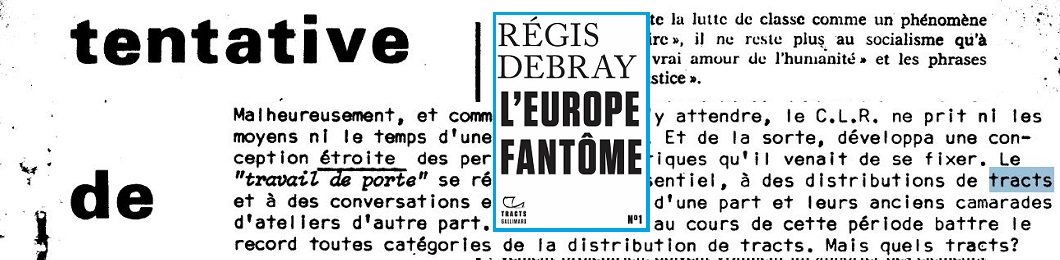 Tract 1 Nrf Gallimard
