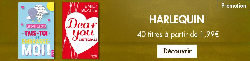 Harlequin, 40 incontournables à partir de 1,99€