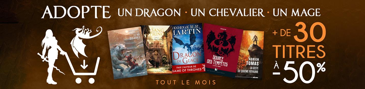 Adopte un Dragon, un Chevalier, un Mage