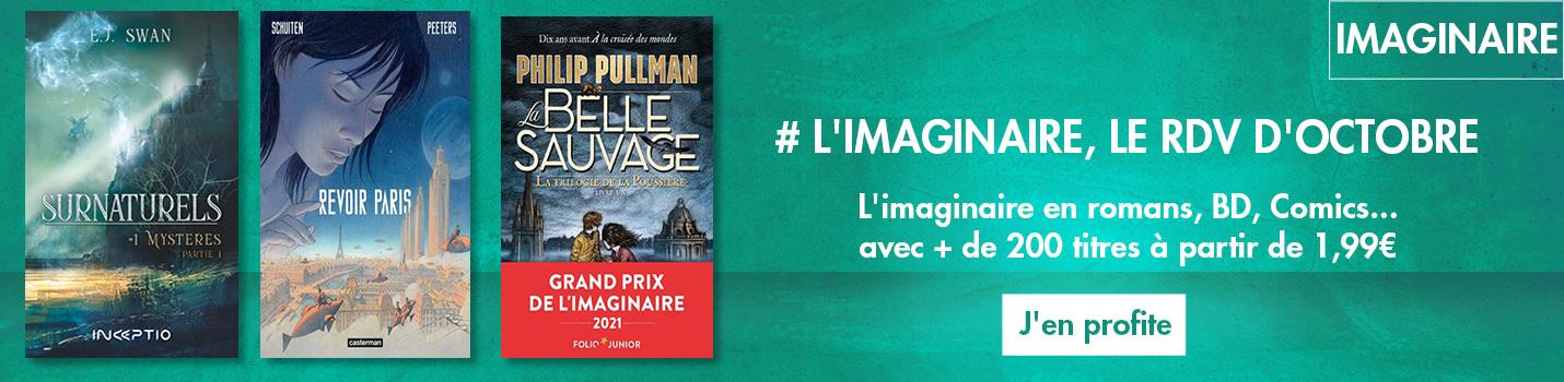 #Oct : Mois de l'imaginaire .... + de 200 titres à partir de 1,99€