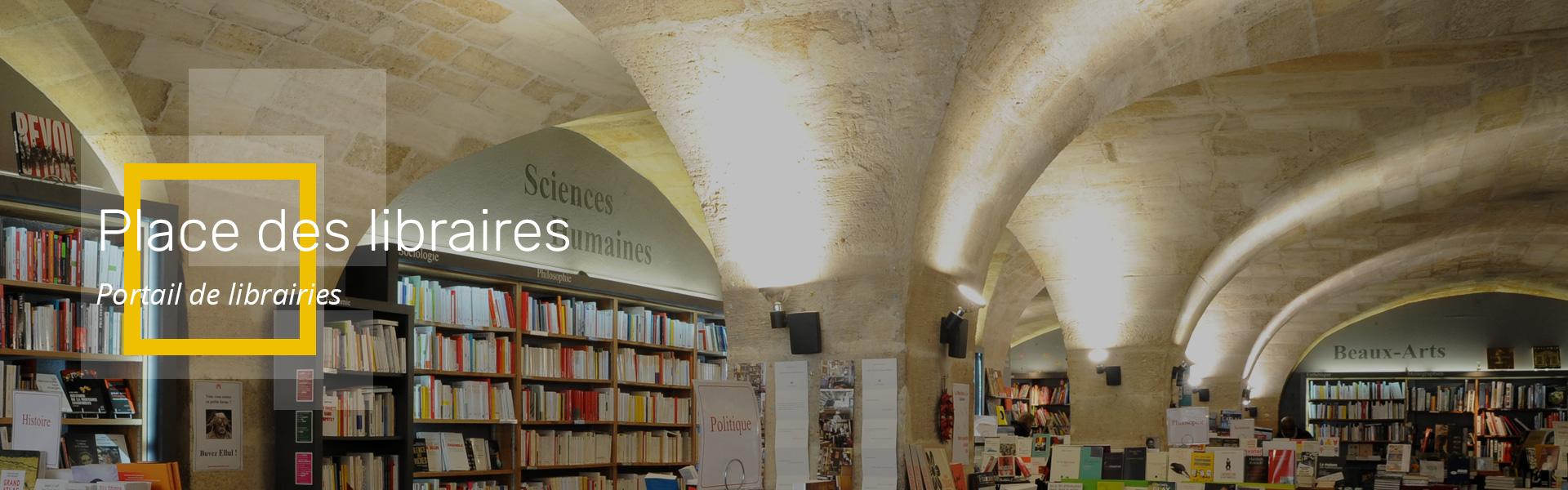Place des Libraires - Portail de librairies