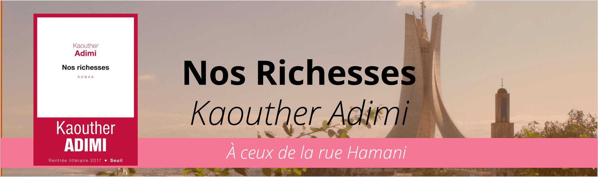 Le Seuil, Nos richesses