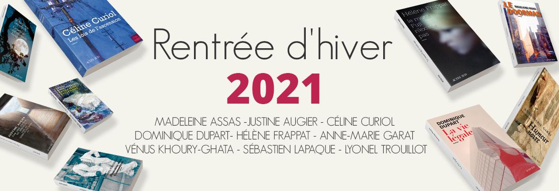 Rentrée Actes Sud 2021