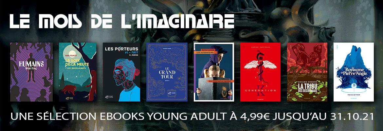 Opération eBook 4,99€ - Mois de l'Imaginaire Young Adult