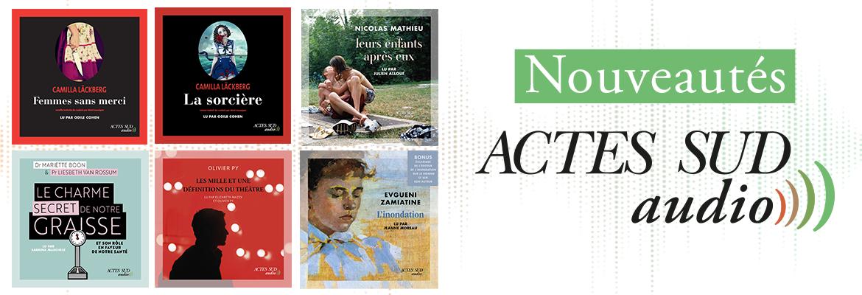 Livres audio Actes Sud