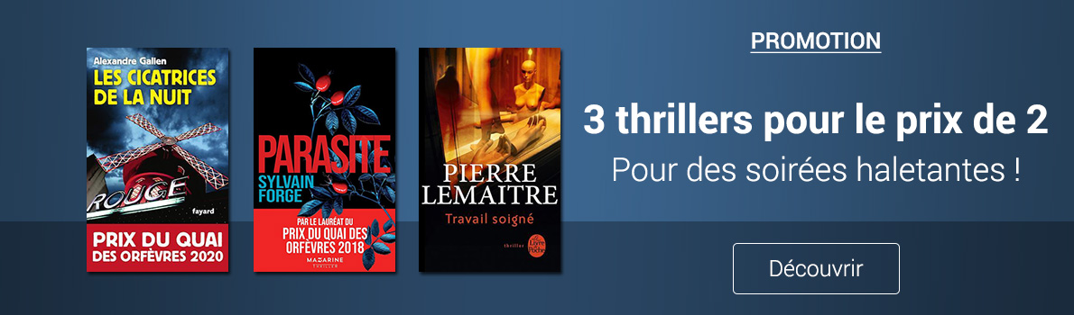 Opé 3 thriller 2 novembre