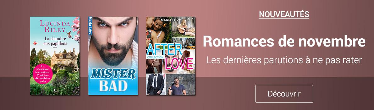 Nouveautés Romance Novembre