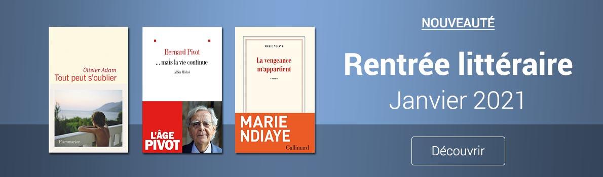 Rentrée littéraire janvier
